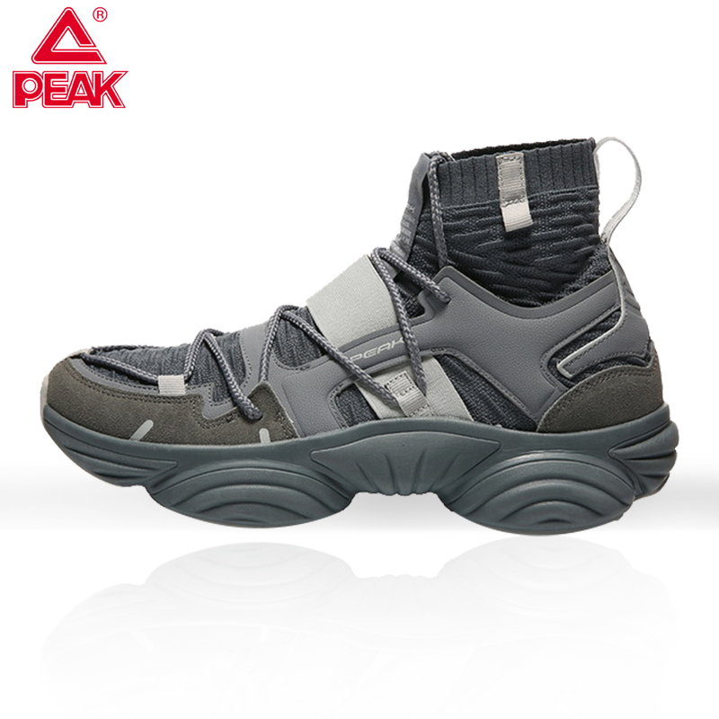 PEAK Street Trend Hip-hop Basketball Shoes Colorful Cool Fashion Sports Casual Shoes Men's Sports Shoes Outdoor Training Shoes