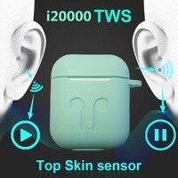 I20000 pro fone de ouvido bluetooth super tws 1536u fone de ouvido 5d subwoofer fones de carregamento renomeado gps pop up janela para o telefone inteligente Fones de ouvido     -