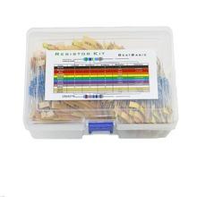 Resistor-Kit Boxed Metal-Film 110-Types/0.5w 1/2w