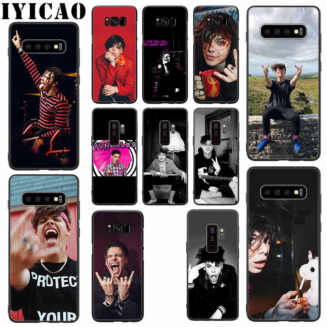 Yungblud Soft Silicone Case for Samsung Galaxy S10 S9 S8 Plus S10e S6 S7 Edge Phone TPU Cover