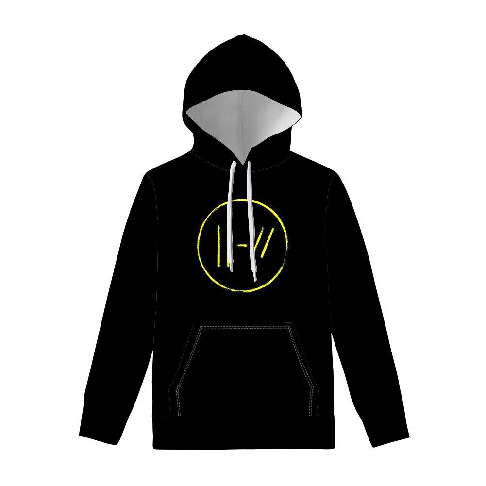 2019 Twenty One Pilots Men/women Hoodie Rock Band Hoodies Hip Hop Hoody World Tour Sweatshirts Jacket Album Pullover Fans Gift