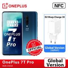 Global Versie Oneplus 7T Pro Snapdragon 855 Plus 8Gb 256Gb 6.67 Vloeistof Amoled 90Hz Screen 48MP triple Cam Oneplus Officiële Winkel