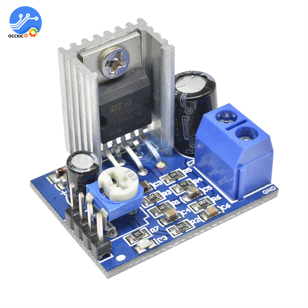 TDA2030 Mono Amplifier Board 18W 6-12V Audio Power AMP Speaker Amplificador Profesional Sound Board