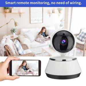 Ip-Camera Wifi Support-Night-Vision Wide-Angle 720P HD Home-Security Wireless