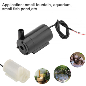 Micro Submersible and Amphibious DC Motor Pump Water pump 3/4.5V 80-100L/H Europe Drop Shipping