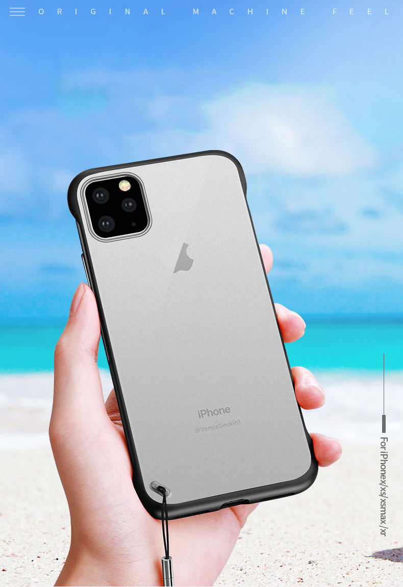 Frameless Slim Matte Hard Back Cases for iPhone 11/11 Pro/11 Pro Max 35