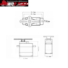 4set/lot 100% orginal Power HD HD-1600A Analog Micro Mini Servo 1.3kg/6g (Compatible with FUTABA/JR)