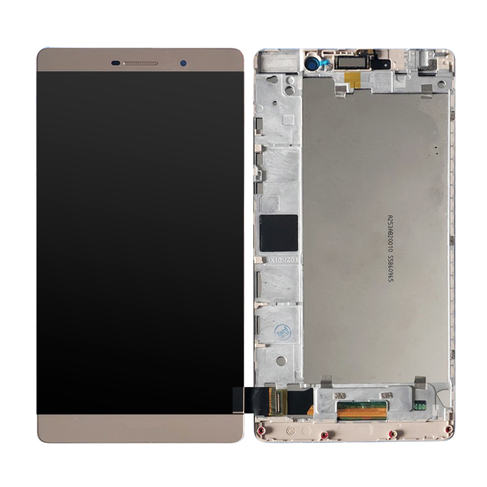 With Frame Lcd For Huawei P8 Max LCD And Touch Screen 6.8 Inch Digitizer Replacement + Tools  For DAV-703L DAV-713L