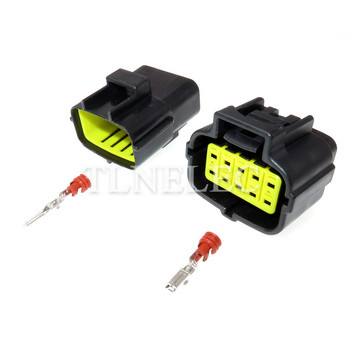 10 Pin Way Male Female Electrical Waterproof Plug Auto Wire Connectors 174657-2 174655-2 image