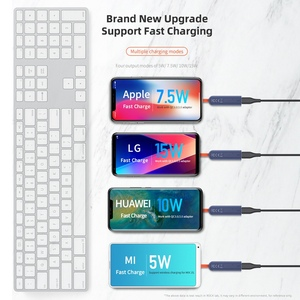 Image 5 - ROCK Double side Wireless Charger ดูดถ้วย Fast ชาร์จไฟแบบไร้สาย 15W Qi Charger สำหรับ iPhone XS 8 Huawei