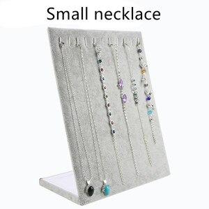 Image 4 - Soporte de exhibición para colgante de collar, soporte para almacenamiento organizador de joyas para mujer, estuche para pulsera