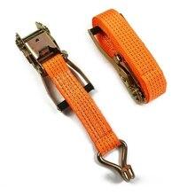 2021 Porable Tensioning Belts Adjustable Cargo Straps for Car Motorcycle Bike Ratchet Tie Down Belt for Luggage Bag Bind Belts