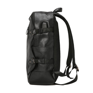Image 2 - Kudian クマ男性バックパック防水バックパックファッション pu レザー旅行バッグカジュアルスクールバッグティーンエイジャーランドセル BIX301 PM49