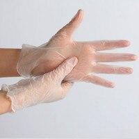 Schnelles Verschiffen Neue Ankunft 100pcs/box One off Latex Handschuhe Einweg Box 100 Medizinische/Arbeit/garten Küche Arbeits Handschuhe-in Schutzhandschuhe aus Sicherheit und Schutz bei