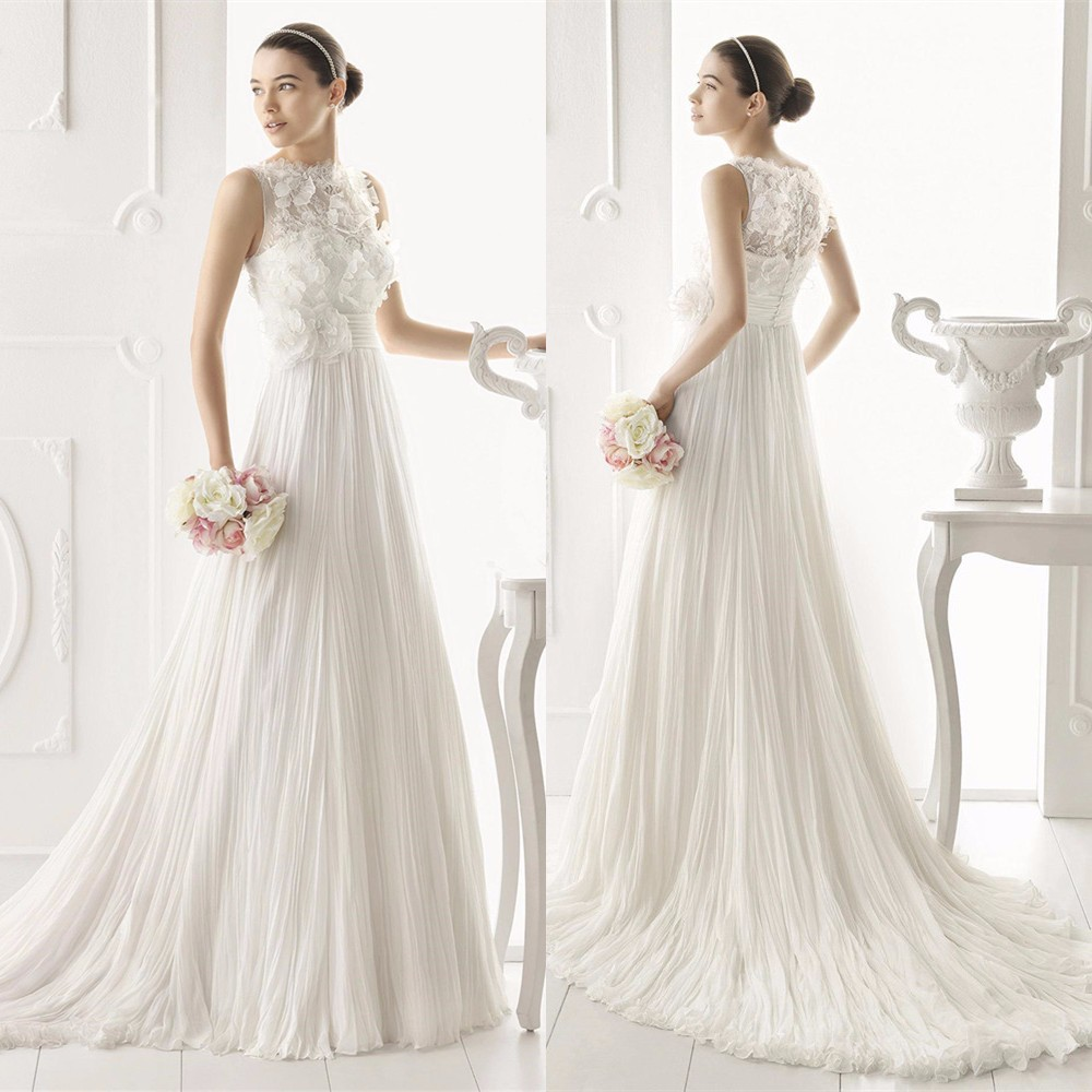 Custom Made With Your Design 2015 New Arrival Hollywood Dreams High Quality Long Married Wedding Dress Free Shipping SB59