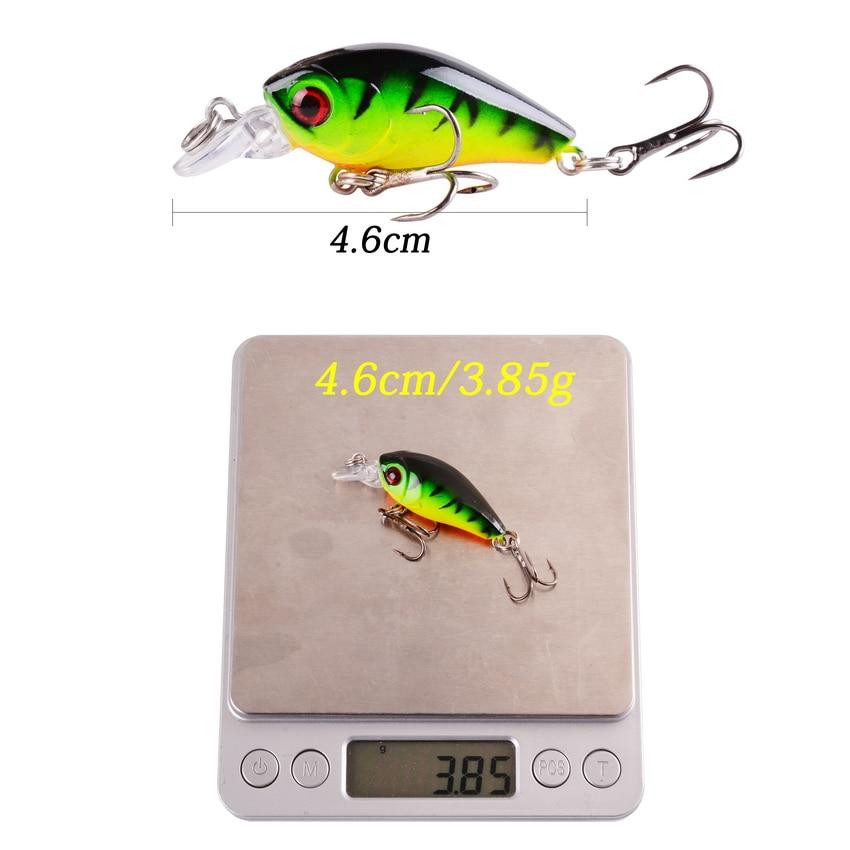 1 PCS Minnow Fishing Lure Crankbait 6