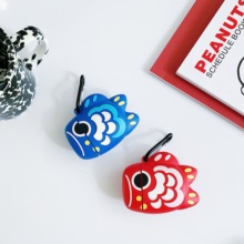 Earphone Cases for AirPods 2 Case Cute lucky-fish Cartoon Apple Protect Cover charging