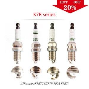 4 шт/6 шт Китай оригинальные свечи зажигания TORCH K7R серии K7RTC/K7RTIP/K7RTI/7026/FR7DP-DEG