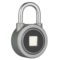 Hot Sale USB Cable Smart Lock Grey Bicycles Backpack Chain Ring Keyless Dormitory Door Locks