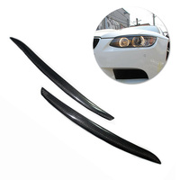 2pcs Car Headlight Covers For BMW 3 Series E92 E93 & M3 2006 2013 Car Headlight Cover Eyebrow Trim Decal Car Lamp Auto Parts