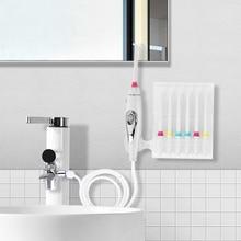 Wasserhahn Munddusche Wasser Jet Zahnbürste Zähne Flosser Dental Irrigator Implementiert Pflege Wasser Jet Dental Flosser Zahn Reiniger