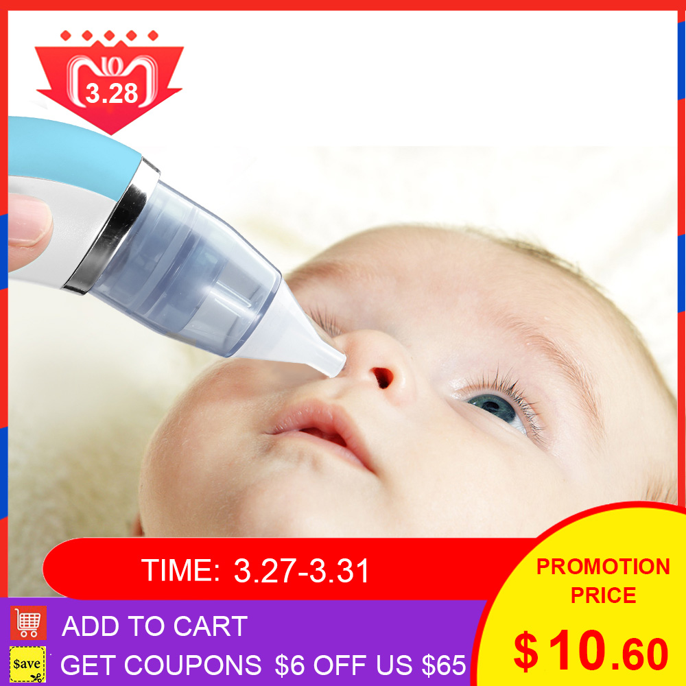 2 In 1 Electric Baby Nasal Aspirator Blackhead Remover Machine Detachable Blackhead Instrument Comfortable Safe Nose Cleaner