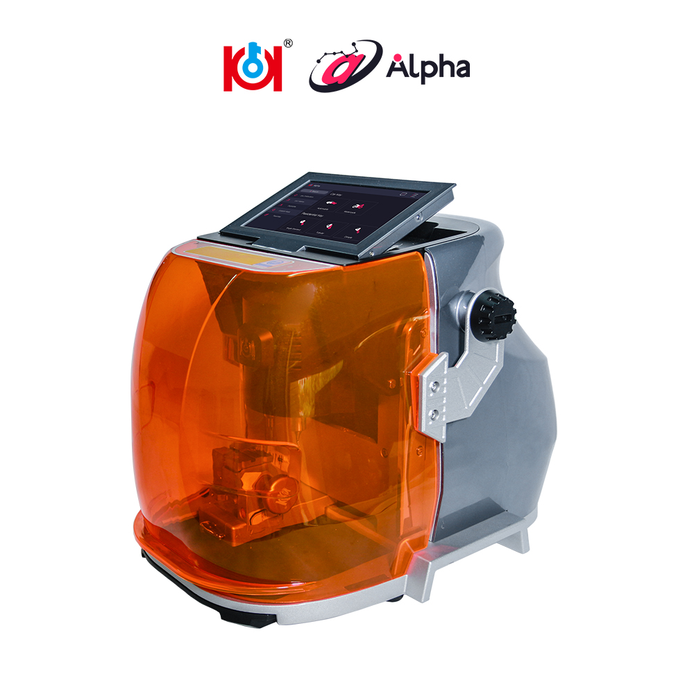 High Quality Alpha Automatic Key Cutting Machine Support Automobile,Residential,Motorcycle,Dimple,Tubulars,FO21