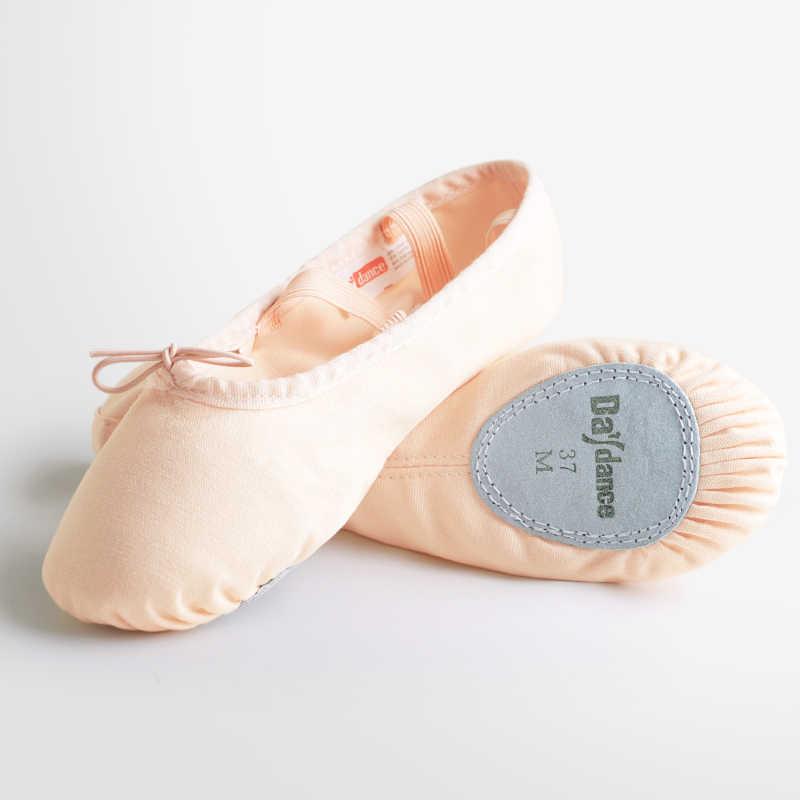 בנות נשים רך בלעדי בלט התעמלות נעלי בד ריקוד נעלי ילדים ילדי בלט נעלי בית