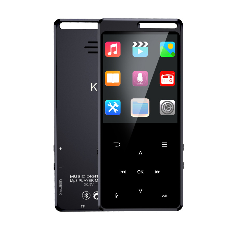 LEORY K7 8GB 2.4inch MP3 Music Bluetooth Lossless Video Player Built-in Speaker Recording Ebook Storage Card