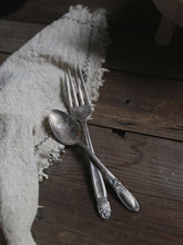 Vintage Old Forks Spoons Tableware Rustic Style Food Photography Props