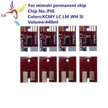 цена на PIG permanent chip for Mimaki JV5/JV33/TS5 printer permanent chip PIG Compatible for Mimaki printer JV5 JV33 TS5 printer
