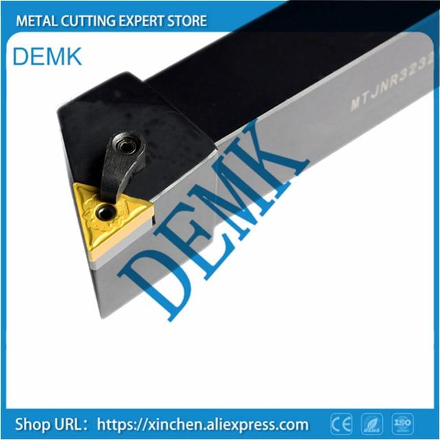 Soporte MTJNR2525M22, soporte giratorio de arco mecánico torneado externo, cara, torno, CNC, para TNMG2204