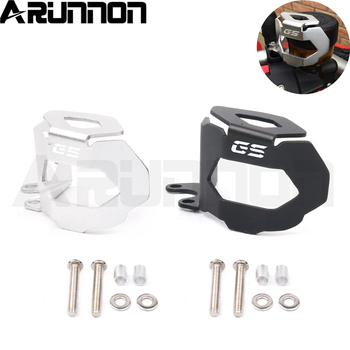 For BMW F800GS F700GS F800 F700 F 800 700 GS 2013-2018 2017 2016 Motorcycle Rear Brake Fluid Eeservoir Guard Cover Protector image