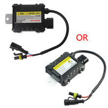Car H7 H1 DC Electronic 55W Light Ultra Slim Ballast HID Kit For All Bulbs#T518#(China)