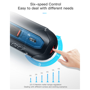 Image 5 - Brand Original BOSCH GO Mini Electric Screwdriver 3.6V lithium ion Battery Rechargeable Cordless Power Drill with drill bits kit