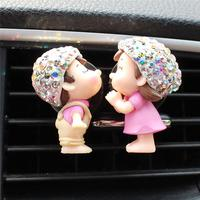 Lovely Couple Girl Boy Car  4