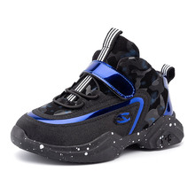 VOSONCA Children Shoes Sneakers kids Shoes For Boys High Quality Casual Sports Shoes Students Shoes New Basketball Shoes cheap Spring Summer Autumn Winter Rubber Cotton Fabric Latex Fits true to size take your normal size Anti-Slippery Hook Loop
