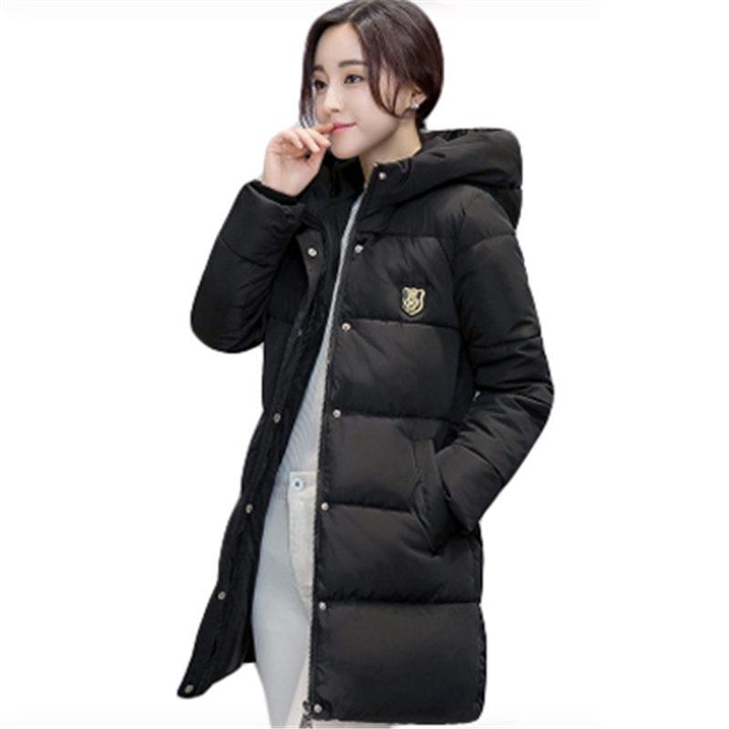 Длинное пальто для женщин, новинка 2020, утепленная хлопковая куртка, женские парки для женщин, зимняя верхняя одежда|Парки|   | АлиЭкспресс