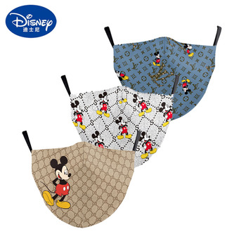 Mickey Mouse Minnie 3D Printing Party Decoration Cartoon Disney Cover Adult Washable Anti-Dust Reusable Breathable Cover Mouth