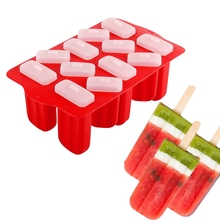 Ice Pop Molds Trays for Homemade Popsicles Maker Silicone Mold Drip-Guard Handle Ice Cream with 50 Pcs Wooden Sticks zhenxing 4 cup ice pop making molds w sticks translucent white green