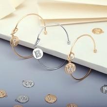 2020 New Fashion Knot Initial Bracelets Female Bangles A-Z 26 Crystal Letter Charm Bracelet Bangle for Women Jewelry Pulseiras