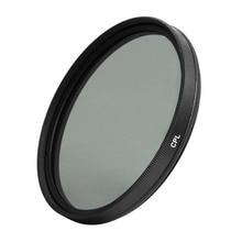 58mm circulaire polarisant CPL C PL lentille de filtre 58mm pour appareil photo numérique DSLR reflex DV caméscope