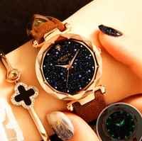 Modus Frauen Uhren 2019 Beste Verkaufen Star Sky Zifferblatt Uhr Luxus Rose Gold frauen Armband handgelenk uhren für frauen
