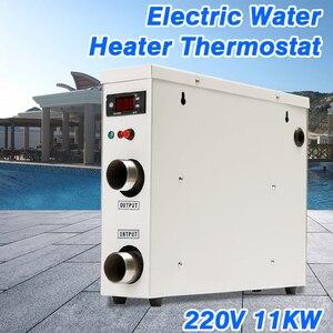 Image 5 - 1 adet 11KW 220V AC elektrik dijital SU ISITICI termostat yüzme havuzu için SPA jakuzisi banyo su ısıtma