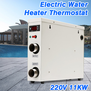 Image 5 - 1PC 11KW 220V AC Electric Digital Water Heater Thermostat For Swimming Pool SPA Hot Tub Bath Water Heating