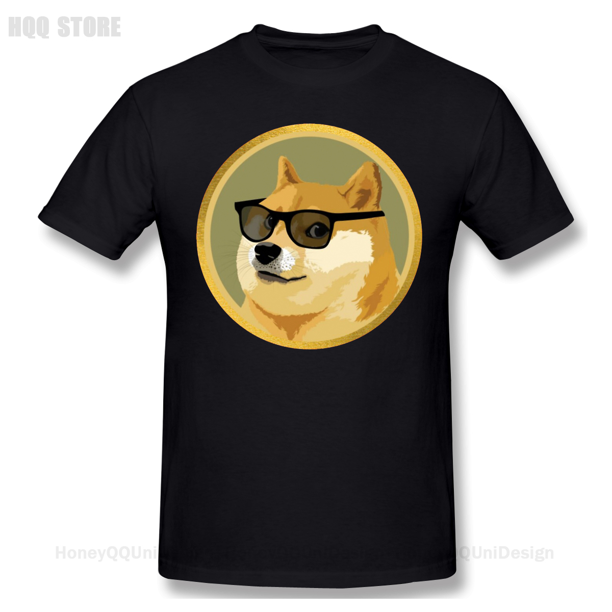 Men Clothing Dogecoin Shirt Doge Coin Funny Crypto Design Tshirt Bitcoin Apparel Fashion Short Sleeve For Adult Oversize T-shirt 1