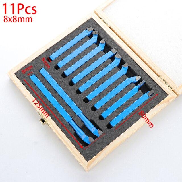 Токарный инструмент 8 мм для мини токарного станка, 11 шт.
