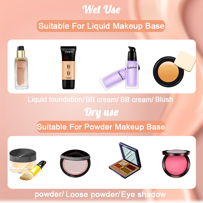 Купить с кэшбэком 1 Pc Water Drop Shape makeup sponge Cosmetics Puff Make Up Blender Foundation Base Liquid Powder Makeup Tool Accessory