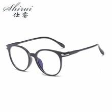 Mężczyźni okulary moda fałszywe okulary kocie okulary Student Temperament okulary okulary na okulary damskie różowe okulary ramki tanie tanio Shirui 仕睿 Unisex Z tworzywa sztucznego Stałe SR080 15mm 143mm 145mm 21 6g