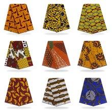Ankara African cotton Wax Prints Fabric For DiY Handmade Sewing Women Garment Dress Accessories Supplies